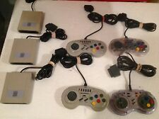Super Nintendo Snes Super Scope Receiver X3 and high frequency controllers x4