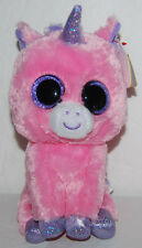 "Ty Beanie Boo Magic Pink Unicorn Plush 6"" 2014 NEW"
