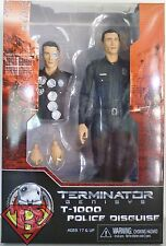 """T-1000 POLICE DISGUISE #1 Terminator Genisys 7"""" inch Action Figure Neca 2015"""