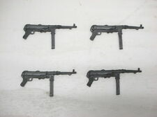 "German MP40 Machine Gun 1:18 Weapons Accessories For 3-3/4"" 4 pcs"