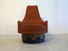 adrian pearsall high back swivel lounge chair by craft mid century modern