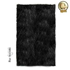 Premium Faux Fur Shaggy Area Rug Shag 8 Colors 6 Sizes Faux Sheepskin White
