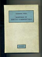 G.Ferri # MANUALE DI DIRITTO COMMERCIALE # UTET 1968