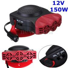12V 2in1 Car Truck VAN Heater Hot Cool Fan Windscreen Window Demister Defroster