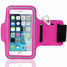 Sports Running Workout Gym Armband Arm Band Case Cover for iPhone 6 6S Hot Pink