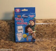 Disney Learning Flash Cards Time And Money Homeschool Teacher Resource