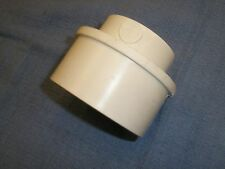 "P1206 3 X 2"" SDR35 White PVC Reducer Sewer & Drain Bushings 8pk  New"