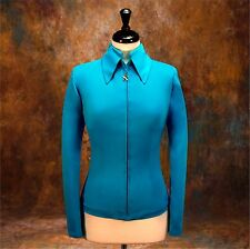 SMALL Showmanship Western Horsemanship Jacket Rodeo Queen Rail  AIR-BRUSH READY