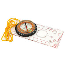 New Useful Baseplate Ruler Compass Scouts Camping Map Scale  Hiking Sporting