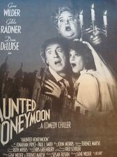 Magazine Item Advert Film Haunted Honeymoon Gene Wilder
