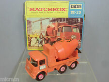 "MATCHBOX KING SIZE  MODEL No.K13-1  ERF ""READY MIX"" CONCRETE TRUCK  VN MIB"