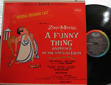 A Funny Thing Happened on the Way (Soundtrack / Bdwy. Cast) (Zero Mostel) Stereo