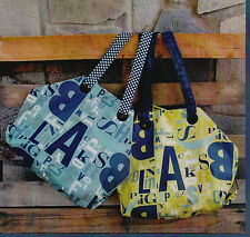 PATTERN - The McKenzie Bag - fun and easy bag PATTERN - Abbey Lane