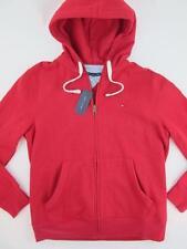 Tommy Hilfiger NEW Fleece Trendy Red $90 Men L Full Zip Hoodie Sweatshirt Jacket