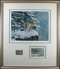 TIMBER WOLF by HELEN RUNDELL for President GERALD R FORD    Very Rare