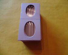 100 2x2 Oblong / Elongated Cent Penny Coin Holders Flip USA Seller Free Shipping