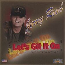 JERRY REED - Let's Git It On (featuring Boys Of '44) country CD