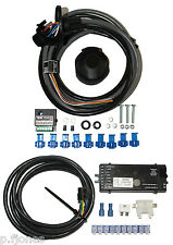 Universal 13 Pin Towbar Electrics / Wiring + PCT ZR2500 7 Way Bypass Relay Kit