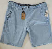 Shorts Light Blue Size 36 Buffalo David Bitton 100% Cotton New with tags