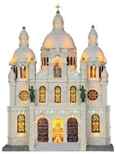 Lemax Village Europe Cathedral Building Collection Christmas Village Facade