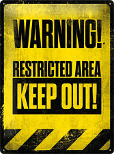 Cartel Warning - KEEP OUT 30x40cm 23172