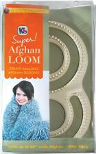 "Authentic knitting board 60""Wide Super Afghan Loom kit Knit a 60"" wide KB8000"