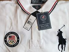 $145 NWT Polo Ralph Lauren Big Pony Olympic Team USA Classic Fit Polo Shirt Sz L