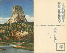 USA - Devil's Tower National Monument Northeasten Wyoming (S-L XX236)