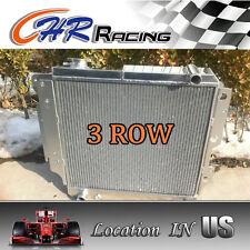 3 ROW ALUMINUM RACING RADIATOR for 87-06 JEEP WRANGLER YJ/TJ 2.4L 2.5L 4.0L 4.2L