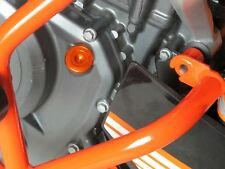 KTM 125 200 390 DUKE ORANGE OIL FILLER CAP LID SCREW CNC B11F