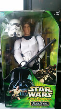 Star Wars Hasbro Power of the Force Han Solo Stormtrooper Disguise 1/6 scale