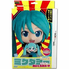 Hatsune Miku Dayo Deluxe Plush Pouch w/ Sushi for new Nintendo 3DS LL SEGA JAPAN