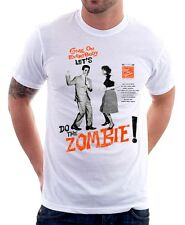 Do The Zombie Walking Dead Funny dance white cotton t-shirt 9784