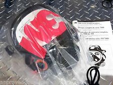3M 7800S Respirator / Gas Mask - Silicone Full Facepiece MEDIUM - NEW / NIB
