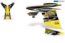 Decal Graphic Kit Ski Doo Mini Z Skidoo Sled Snowmobile Wrap Snow Decal MiniZ RS