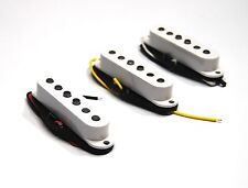 Set White Giovanni Alnico single coil pickup  Stratocaster guitar GVS 50