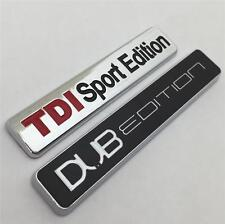 TDI SPORT EDITION + DUB Edition BADGE NUOVO per VW GOLF GTI TDI Polo Caddy T4 T5