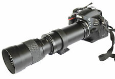 420-800mm F/8.3-16 Super Telephoto Lens + T Mount for Nikon D40 D60 D3100 DSLR