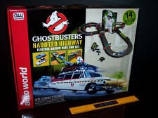 GHOSTBUSTERS ECTO HAUNTED HIGHWAY 14-FOOT RACE TRACK AW HO SLOT CAR - BRAND NEW