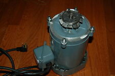 GE General electric electric motor A-C 115v  1/3 HP, 1750 RPM for vacuum pump