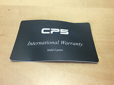 CP5 Watch - International Warranty Card - Valid 2 years - For Collectors