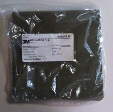 3M LAPPING FILM 6X6 468X 30MIC 3MIL PSA SILICON CARBIDE 50 SHEETS PER PACK