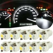 10pcs T5 B8.5D Gauge 5050 LED Car Dashboard Dash Side Lights Bulbs Indicator New