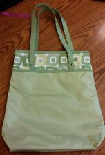 Clinique Green & White Large Tote Bag