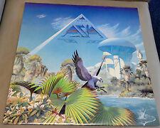 Asia Alpha with Lyric Insert Near Mint Vinyl Record LP GEF 25508