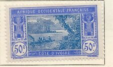 Ivory Coast 1916-22 Early Issue Fine Mint Hinged 50c. 105404