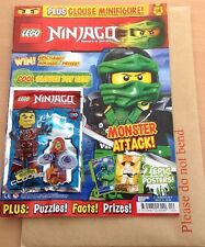 Lego NINJAGO Issue 10  Limited Edition Clouse Mini Fig+2 Epic Posters(NEW)