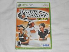 NEW Virtua Tennis 2009 XBox 360 Game SEALED Sega virtual tenis 09 sports US NTSC
