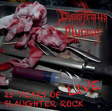 DISASTROUS MURMUR - 25 Years of Slaughter Rock - DOUBLE live album - death metal
