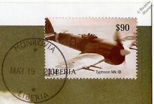 RAF HAWKER TYPHOON Mk.1B Aircraft Stamp FDC (100 Years of Powered Flight)